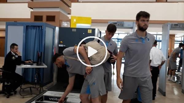 'Trabzonspor kamp çalışmaları için Avusturya'ya gitti