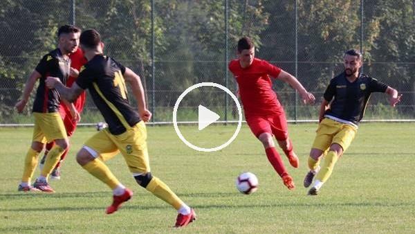 'Yeni Malatyaspor, ilk hazırlık maçından galip ayrıldı