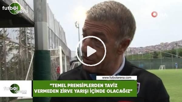 """'Ahmet Ağaoğlu: """"Temel prensiplerden taviz vermeden zirve yarışı içinde olacağız"""""""
