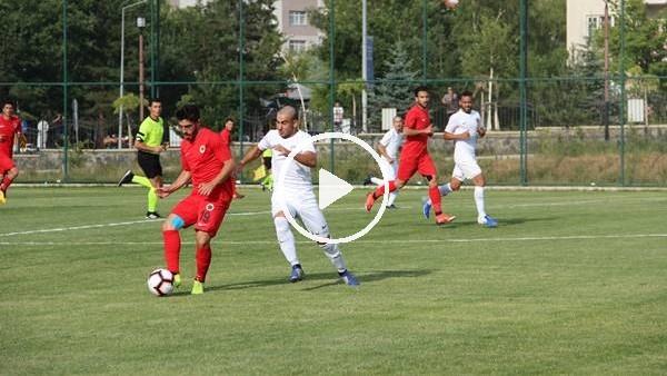 Antalyaspor ile Gençlerbirliği hazırlık maçı yaptı