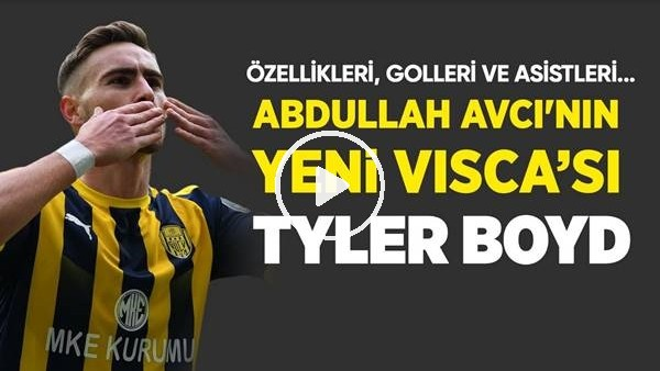 'Beşiktaş'a Amerikalı Visca, Tyler Boyd! Golleri, Asistleri, Özellikleri...