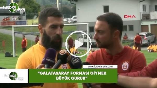 """'Jimmy Durmaz: """"Galatasaray forması giymek büyük gurur"""""""