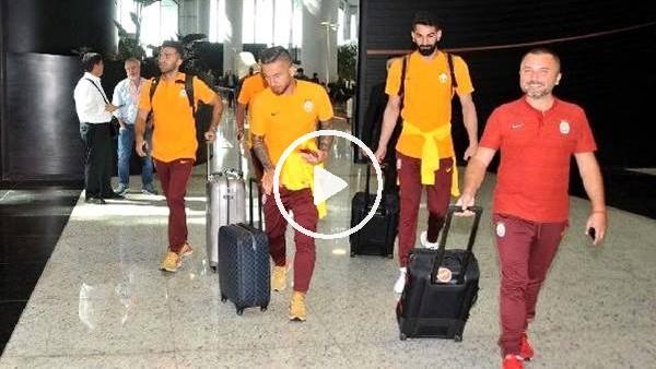 'Galatasaray'ın kamp yolculuğu başladı