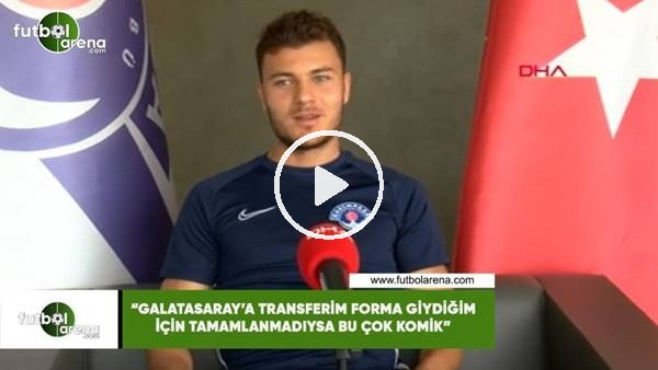 """'Yusuf Erdoğan: """"Galatasaray'a transferim formayı giydiğim için tamamlanmadıysa bu çok komik"""""""