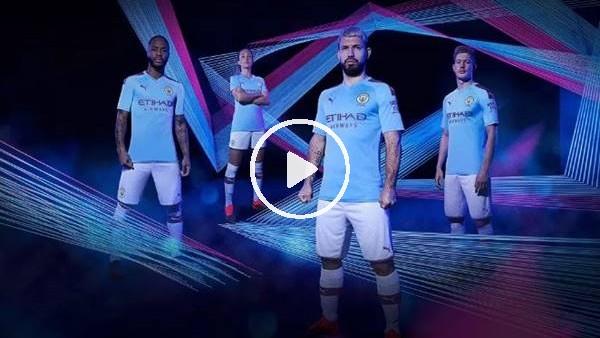 'Manchester City yeni sezon formalarını tanıttı