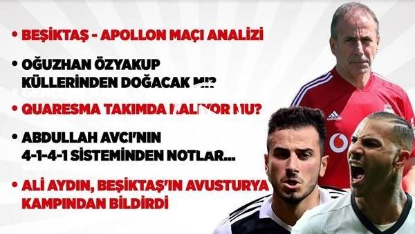 Beşiktaş - Apollon Larisas Hazırlık Maçı Analizi, Oğuzhan Özyakup Küllerinden Mi Doğuyor?