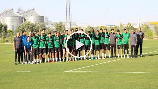 'Konyaspor, yeni sezon hazırlıklarına başladı