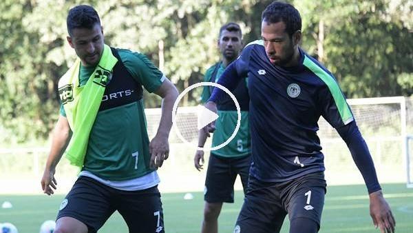 'Konyaspor'un Hollanda kampı başladı