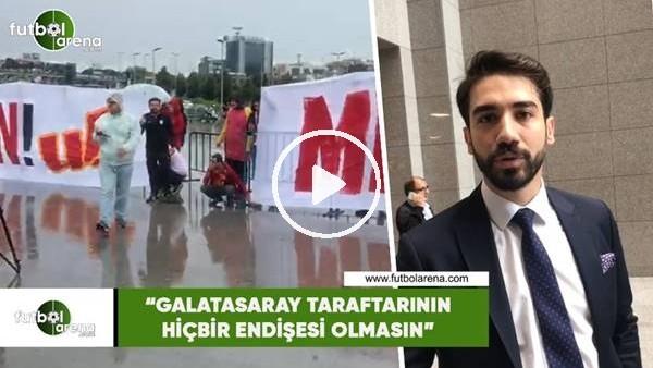 """'Ömer Faruk Kırbıyık: """"Galatasaray taraftarının hiçbir endişesi olmasın"""""""
