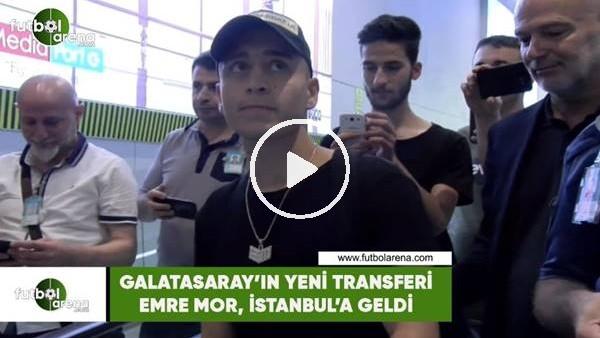 Emre Mor, İstanbul'a geldi