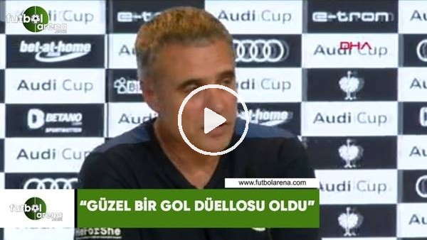 """'Ersun Yanal: """"Güzel bir gol düellosu oldu"""""""