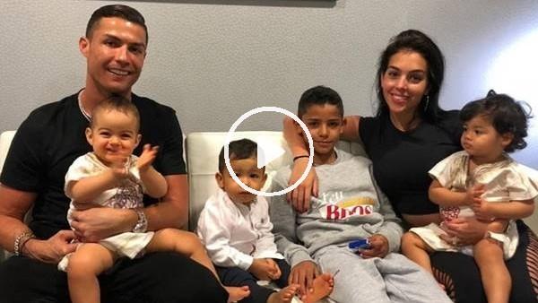 Cristaino Ronaldo ve ailesinin keyifli anları..