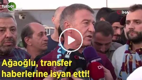 Ahmet Ağaoğlu, transfer haberlerine isyan etti