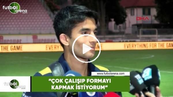 """'Murat Sağlam: """"Çok çalışıp formayı kapmak istiyorum"""""""