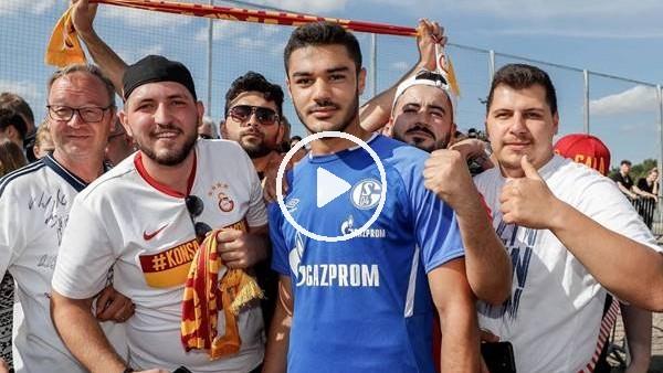 'Galatasaray taraftarından Ozan Kabak'a ziyaret