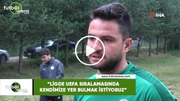 """'Ömer Ali Şahiner: """"Ligde UEFA sıralamasında kendimize yer bulmak istiyoruz"""""""