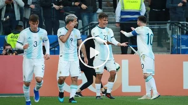 Arjantin 2-1 Şili (Maçözeti)