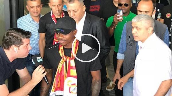 'Galatasaray'ın yeni transferi Jean Michael Seri, İstanbul'a geldi
