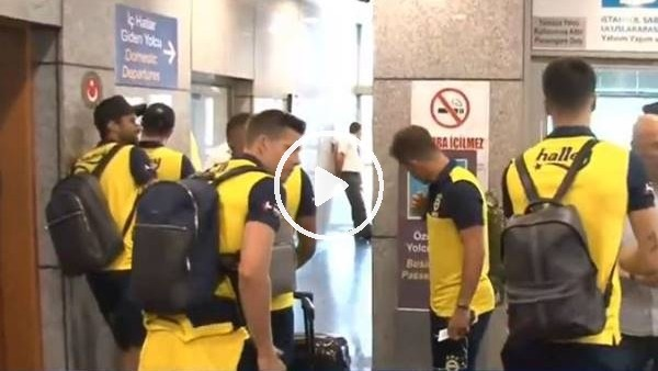 'Fenerbahçe kamp çalışmaları için Avusturya'ya gitti