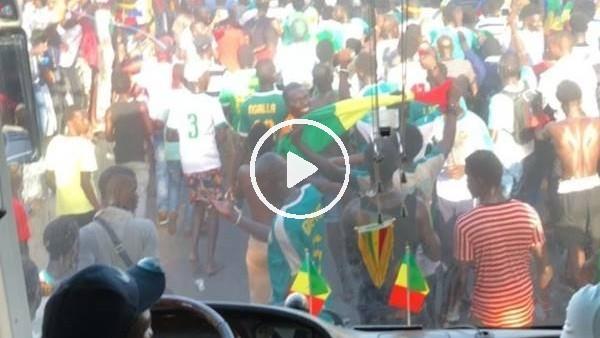 'Diagne'nin kamerasından Senegal kutlamaları