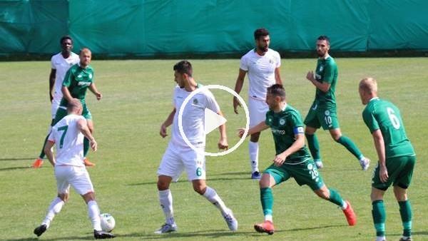 'Alanyaspor, Konyaspor'u hazırlık maçında 1-0 yendi