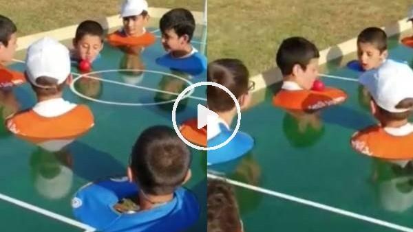 Şampiyonlar Ligi heyecanı Arnavutköy Gençlik Kampında