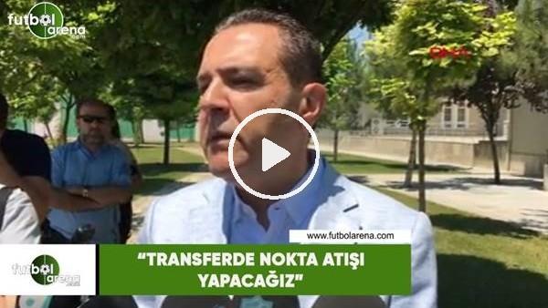 """'Konyaspor Basın Sözcüsü Güven Öten: """"Transferde nokta atışı yapacağız"""""""