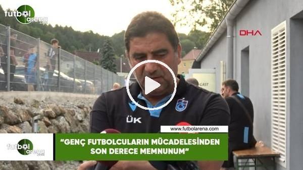 """Ünal Karaman: """"Genç futbolcuların mücadelesinden son derece memnunum"""""""