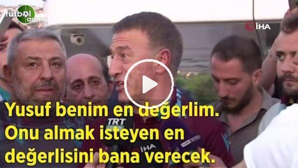 """Ahmet Ağaoğlu: """"Yusuf benim en değerlim. onu almak isteyen en değerlisini bana verecek"""""""