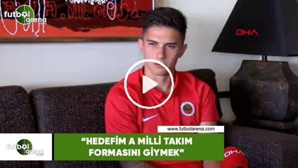"""Gençlerbirliği'nin genç yeteneği Berat Ayberk Özdemir: """"Hedefim A Milli Takım formasını giymek"""""""