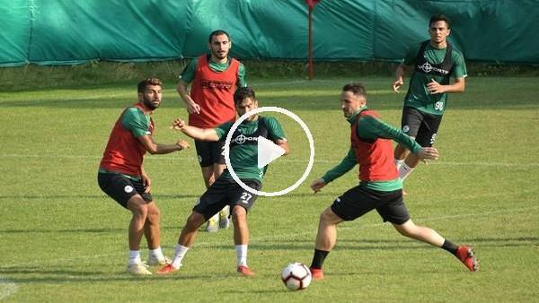 'Konyaspor, Bolu kampındaki hazırlıklarını tamamladı