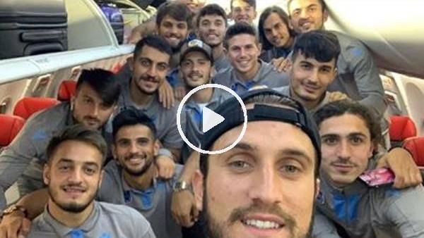 Trabzonsporlu futbolculardan Mero şarkısı