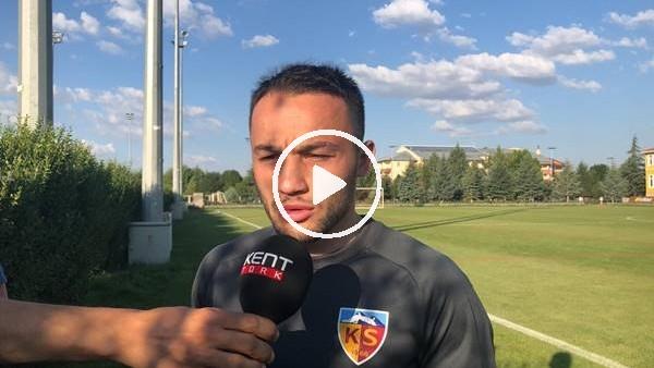 Kayserispor'un yeni transferi Ziya Alkurt'un açıklamları