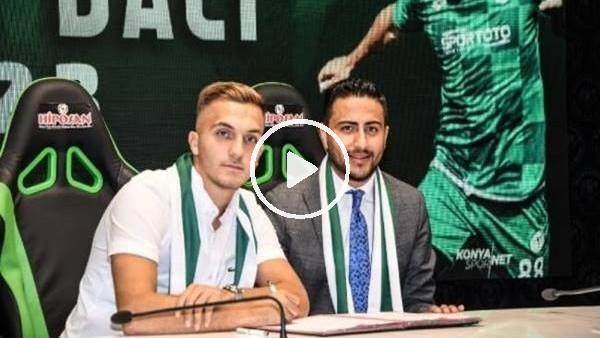 'Konyaspor'da Erdon Daci'nin sözleşmesi 3 yıl daha uzatıldı