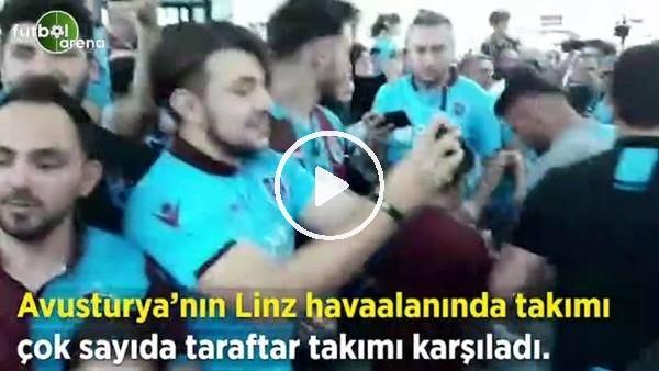 'Trabzonspor'a Avusturya'da coşkulu karşılama