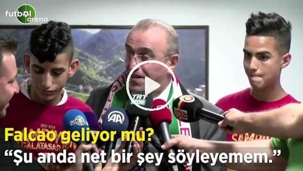 """Abdurrahim Albayrak: """"Falcao transferiyle ilgili şu anda net bir şey söyleyemem"""""""