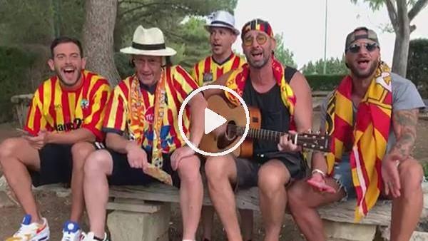 'Lecce taraftarından Burak Yılmaz için beste