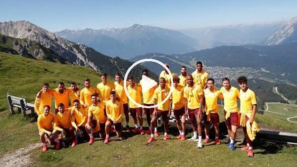 'Bartali, Gaatasaraylı futbolcuları bu kez dağa çıkardı