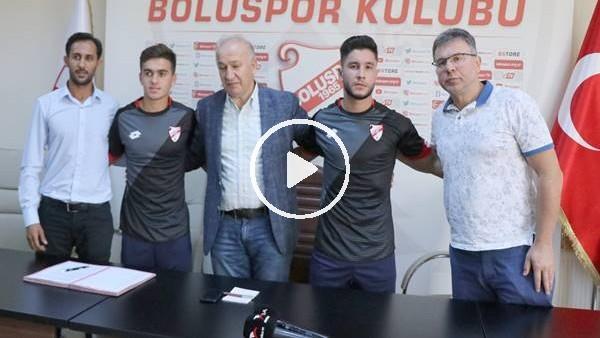 'Boluspor, yeni transferlerine imza attırdı