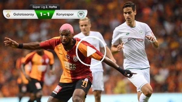'Galatasaray - Konyaspor maçından kareler