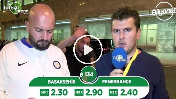 'Başakşehir - Fenerbahçe maçı Bilyoner'de! TIKLA & OYNA