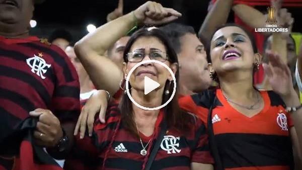 Flamengo taraftarının sevinç gözyaşları