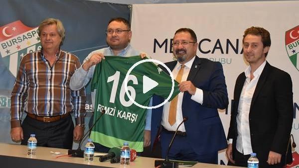 'Bursaspor'un yeni sağlık sponsoru Medicana oldu