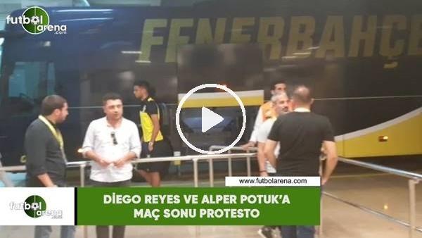 'Diego Reyes ve Alper Potuk'a maç sonu protesto