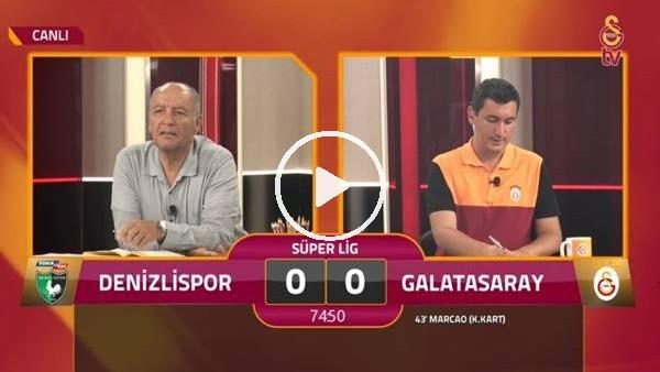'Recep Niyaz'ın golünde GS TV spikerleri