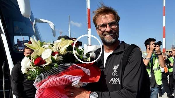 Liverpool, Chelsea maçı için İstanbul'a geldi