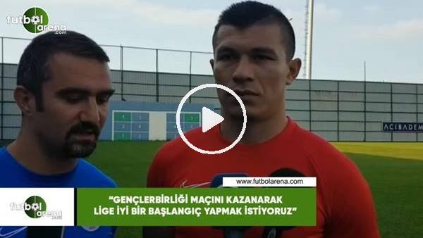 """'Samudio: """"Gençlerbirliği maçını kazanarak lige iyi bir başlangıç yapmak istiyoruz"""""""