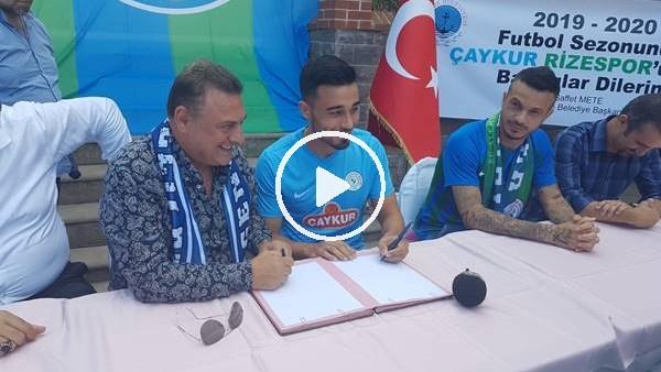 'Çaykur Rizespor'dan imza şov