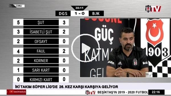 Mert Hakan'ın golünde BJK TV spikerleri
