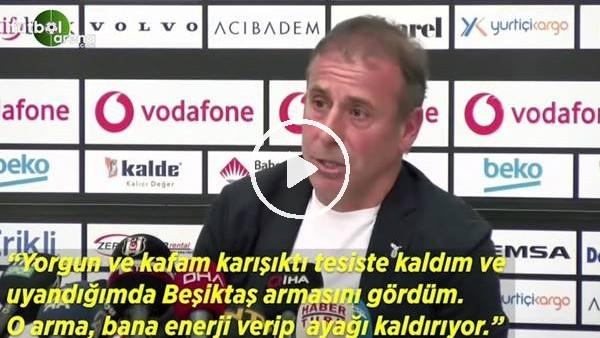 """Abdullah Avcı: """"Beşiktaş arması bana enerji veripayağı kaldırıyor"""""""